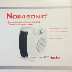 Электрический Тепловентилятор Nokasonic NK-202