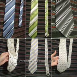 Базовые галстуки Премиум качество