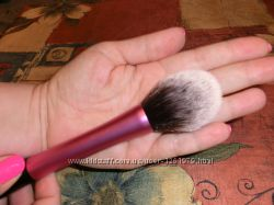 Кисть для румян реплика Real Techniques Blush Brush беличий хвостик.