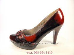 Туфли женские лаковые на шпильке, нарядные. Размер 35-39.