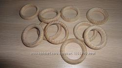 Деревянные колечки. Колечки из дерева Маленькие и Большие