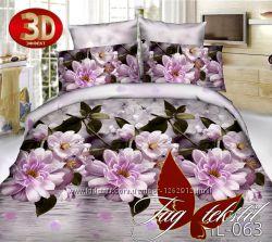 Двуспальные комплекты постельного белья ткань поликоттон