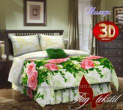 Семейный комплект постельного белья ткань бязь
