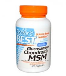 Doctor&acutes Best сша глюкозамин, хондроитин, мсм комплекс для суставов