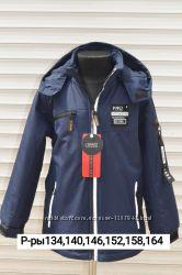 Куртка демисезонная на флисовой подкладке. Р-р128, 134, 140, 146. Венгрия
