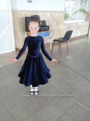 Платье конкурсное для бальных танцев