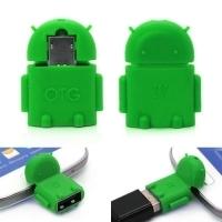 Переходник с MicroUSB на USB OTG-адаптер