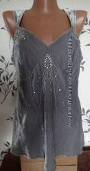 Блуза майка вечерняя праздничная August silk