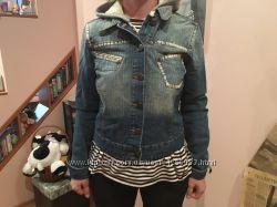 Джинсовая куртка с капюшоном Terra Nova