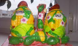 Набор для соли и перца кукурузка. Новый в упаковке. 60грн