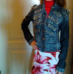 Куртка джинсовая из Италии