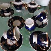 Сервиз СССР чайный фарфор