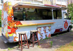 Изготовление и продажа бизнеса на колесах food truck