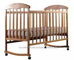 Деревянная кровать Наталка Ольха светлая