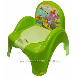 Горшок-кресло веселка MIX Tega Baby