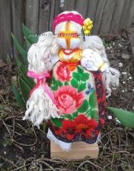 Кукла мотанка На Удачное замужество Леля