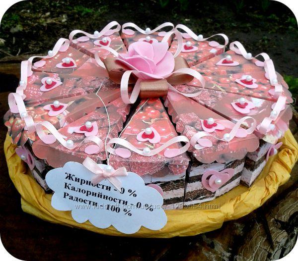 Тортик с пожеланиями на день рождения своими руками