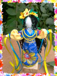Обрядовая кукла мотанка Купавка