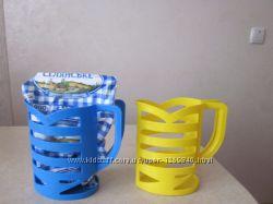 Подставка для пакета молока 1 л, цвета разные