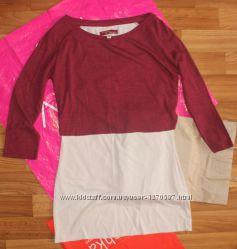 Кофта фирмы Bershka. Бордо нежно-розовый цвет.