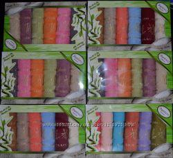 Набор бамбуковых полотенец. Турция