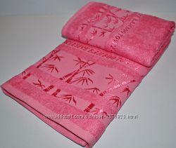 Набор бамбуковых полотенец баня лицо. Турция
