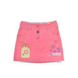 Котоновая юбка бемби ЮБ64 р. 116 розовая, бежевая размер 116, 134