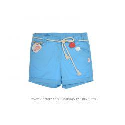Шорты для девочки бемби ШР346 р. 134 голубые