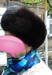 Продам норковую шапку - кубанка р 57-58