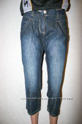 Продам джинсовые штаны на девочку C&A Here there , джинсы, 100 Coton
