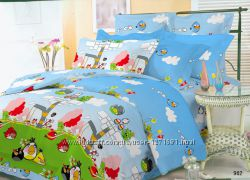 Комплект постельного белья Злые птички