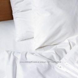 Белые постельные комплекты разных размеров в наличии