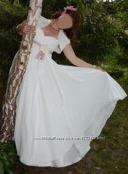 СрочноПродам нежное свадебное платье