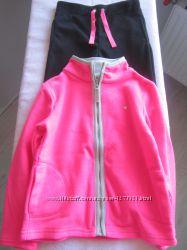 Распродажа - костюм микрофлис для девочки р. 5-6 Carters