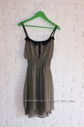 шифоновое платье на бретелях Tally Weijl