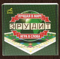 Настольная игра Эрудит рус. Бесплатная доставка Укрпочтой