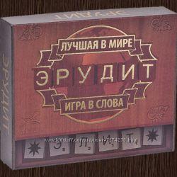 Настольная игра Эрудит Элит рус. Бесплатная доставка Укрпочтой