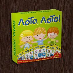 Детская настольная игра Лото, Лото. Бесплатная доставка Укрпочтой
