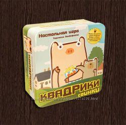 Настольная игра Квадрики Свинки. Бесплатная доставка