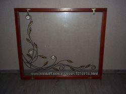 Оконные рамы деревянные со стеклами