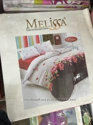 Постельное белье Melissa Хлопок 100 Двуспальный евро комплект Ранфор