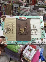 Полотенца кухонные вафельные - Beyza - 100 хлопок - Турция -