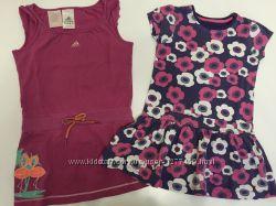 Платья Adidas, Mothercare, 104, 110 размер  4-5 лет