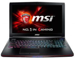Ноутбук MSI GE62 6QC Apache -020XPL - 120GB M. 2  1 Тб HDD
