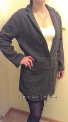 Пальто стильное шерстяное