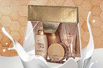 Подарунковий набір засобів для тіла  Молоко і мед