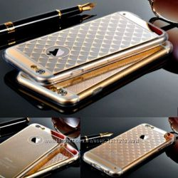 Распродажа Золотой силиконовый чехол на Айфон 6, 6s, 6 plus, 6s plus