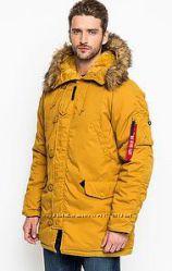 США Куртка мужская зимняя Аляска Altitude, Parka Alpha industries Альтитуде