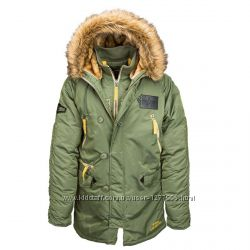 Оригинал США. Куртка мужская зимняя Аляска N-3B INCLEMENT Alpha industries