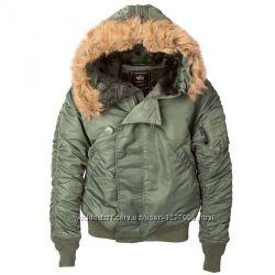 Оригинал Мужская зимняя куртка N-2B PARKA Alpha Industries Альфа Индустриз